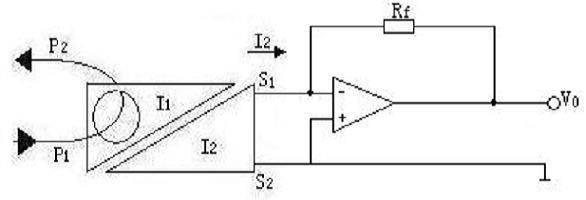 图5为交流输出放大电路,适用i=i0/n〈5ma,v0=-irf,ct输出电压为0v