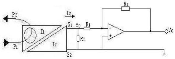 无源交流电流隔离传感器应用电路设计